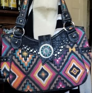 American bling made by Montana West shoulder bag